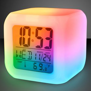 Custom Light Up LED Digital Alarm Clock