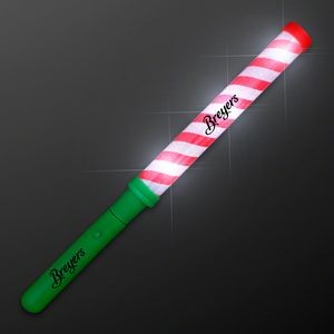 Candy Cane Lights Baton Stick