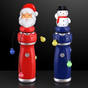 Custom Orbiting LEDs Spinning Christmas Toy Wands