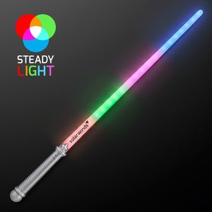 Custom Layered 4 Color Rainbow Light Up Saber