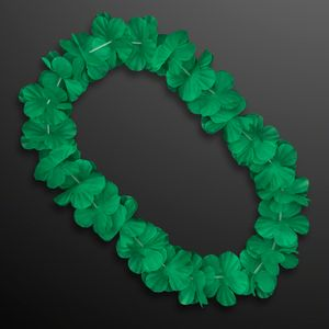 Custom Green Flower Lei Necklace (Non-Light Up)