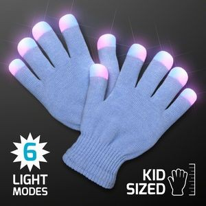 LED Let-It-Glow Gloves, Child Size