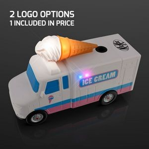 Light Up Ice Cream Truck Electric Pencil Sharpener