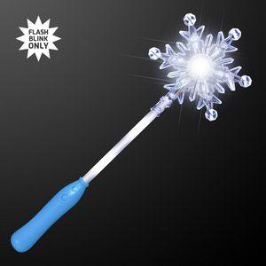 Custom Light Up Snowflake Wand