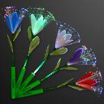Custom Fiber Optic LED Flowers in Assorted Colors