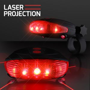 Custom Red Laser Tail Light w/Bike Lane Projection