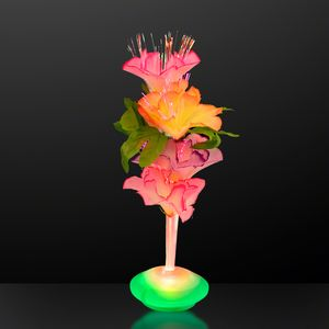 Custom Fiber Optic Flower Centerpiece