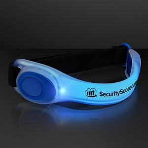 Deluxe Blue LED Armbands