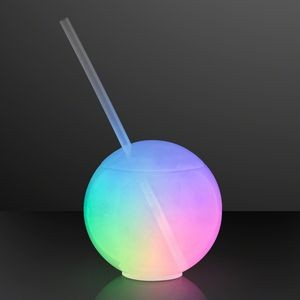 Glow Ball Light Up Tumbler with Straw (20 oz.) - BLANK