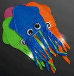 Custom Flashing Blinky Silly Squid Hats