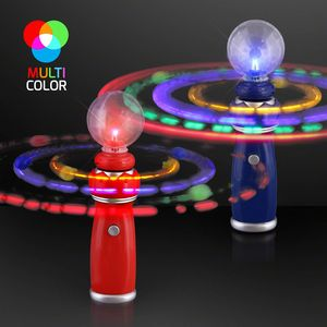 Custom LED Orbiting Toy Wand w/Crystal Ball