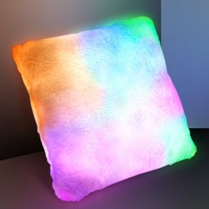 Light Up Pillow with Slow Change LED Mood Lighting