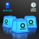 Custom Hollywood Ice Light Up Blue Ice Cubes