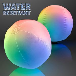 Custom Light Up Beach Ball with Color Change LEDs