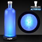 Custom Blue LED Base for Vase Lights & Bottle Lighting