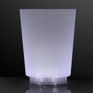 Custom Light Up Color Change Frosted Short Glass