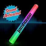 Custom Custom Sound Activated Multi Color Light Up Flashing Cheer Stick