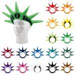 Custom Statue of Liberty Crown Visor