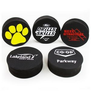 EVA Foam Black Hockey Puck