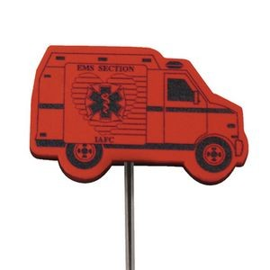 Foam Antenna Topper - Ambulance