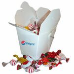 Custom Take Out Box w/ Mixed Candies or Mints