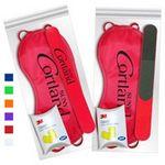 Custom Red Sleep Mask Getaway Kit w/ Nail File