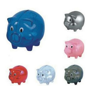 Plastic Piggy Bank Roi809 Ideastage Promotional Products