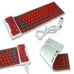 Custom Universal Bluetooth Keyboard for iPhone, iPad, Smartphones