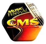Custom Promo Button Badge Domed and Magnetic (4.1 to 5 Square Inch Imprint)
