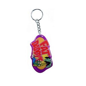 Key Chain / Tag - Custom Double Sided Imprint (3.1 to 4 Square Inch)