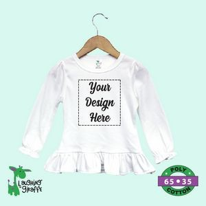 The Laughing Giraffe® Long Sleeve Cotton Baby Bodysuit - Dark Colors