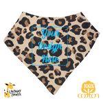 Custom The Laughing Giraffe Long Sleeve Polyester/Cotton Infant Bodysuit - Brights