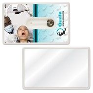 Credit Card Style Dental Floss w/Mirror