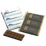 Custom Full Color Holiday Chocolate Bar Gift Set