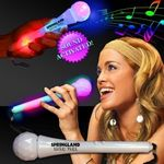 Custom Light Up LED Sound Activated Microphone