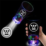 Custom Light Up Cup - Projector - 16 oz - Multi LED