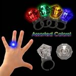 Custom Light Up LED Diamond Ring
