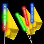 Custom Light Up Flag Identifier w/ Multi Color LED's