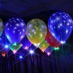 Custom LED Balloon Light - Orange
