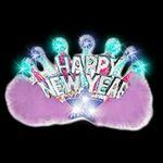 Custom Light Up Tiara - New Year's Crown