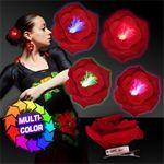 Custom Light Up LED Multicolor Clip On Flower