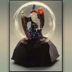 Custom Light Up Fortune Telling Wizard Crystal Ball w/ English Voice
