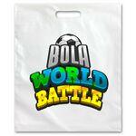 Custom Fold Over Die Cut Handle Bag (15