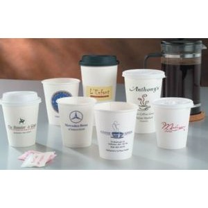 12 Oz. White Hot Paper Cup