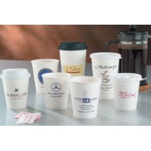 16 Oz. White Hot Paper Cup