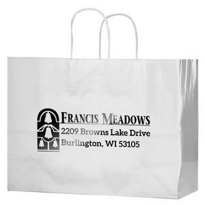White Gloss Paper Shopping Bags