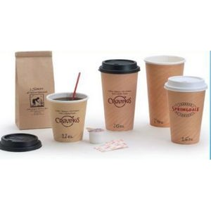 16 Oz. White Insulated Hot Paper Cup