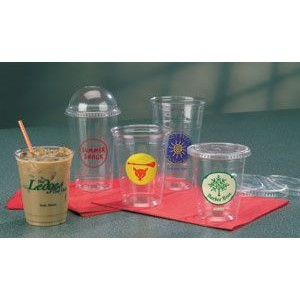 9 Oz. Squat Clear Plastic Cup