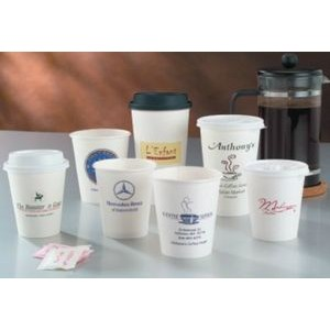8 Oz. White Hot Paper Cup