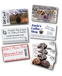 Custom Custom Ink Printed Rewards Cards
